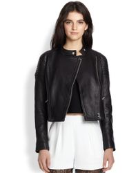 Nicholas Leather Biker Jacket - Lyst
