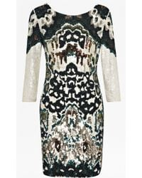 French Connection Gypsy Moth Sequinned Dress - Lyst