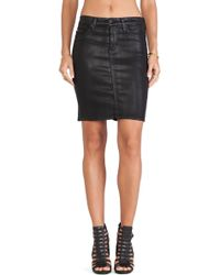 Hudson Mattie Pencil Skirt - Lyst