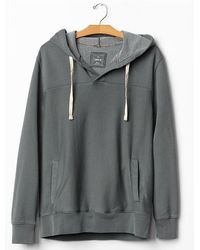 Gap Lived-in Split-neck Hoodie - Lyst