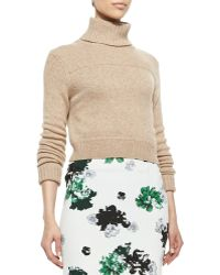A.L.C. Tevin Cropped Turtleneck Sweater - Lyst