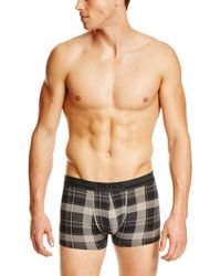 Hugo Boss Boxer Print  Stretch Cotton Trunks - Lyst