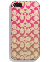 Coach Boxed Iphone 5 Case in Ombre Signature Print - Lyst