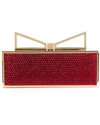 Sara Battaglia | 'lady Me Red Carpet' Clutch | Lyst