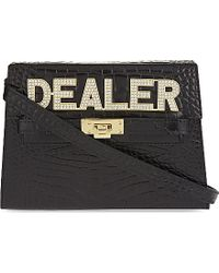 Mawi - Dealer Leather Clutch - Lyst