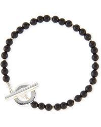 Gucci Men'S Sterling Silver Boule Bracelet - Lyst