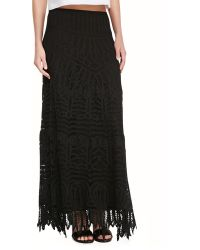 Twelfth Street by Cynthia Vincent Lace Maxi Skirtdress - Lyst
