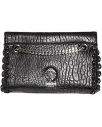 Roberto Cavalli Small Nappa Leather Bag - Lyst
