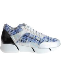 Strategia Blue Sneakers Argento - Lyst