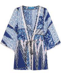 Matthew Williamson Escape Printed Silk Kimono - Lyst
