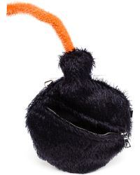 Ashley Williams - Mohair Bomb Bag - Lyst