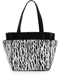 Diane Von Furstenberg On The Go Printed Tote Bag - Lyst