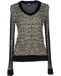 Just Cavalli Beige Jumper - Lyst