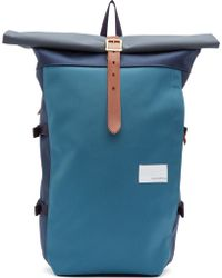 Nanamica Navy Cycling Backpack - Lyst
