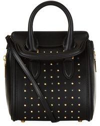 Alexander McQueen Studded Mini Heroine Bag - Lyst