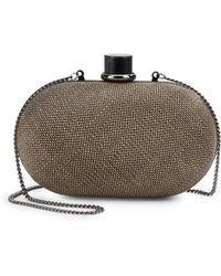 French connection M Textured Minaudiere - Lyst