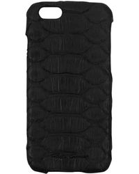 Rick Owens - Cyclops Black Python Leather Iphone 6 Cover - Lyst