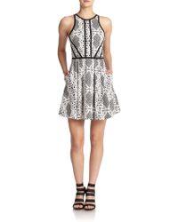 Parker Hudson Lace Dress - Lyst