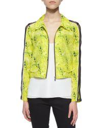 Andrew Marc Miami Camo-Print Jacket - Lyst