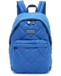 Marc By Marc Jacobs - Crosby Quilt Nylon Backpack - Salton Sea - Lyst