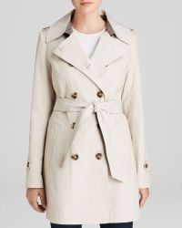 DKNY - Coat - Harper Double-Breasted Trench - Lyst