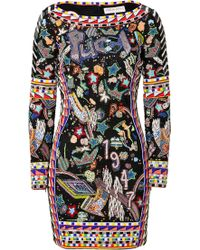 Emilio Pucci Embroidered Dress - Lyst
