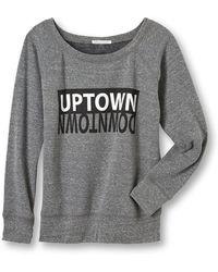 Rebecca Minkoff Uptown Downtown Sweatshirt - Lyst