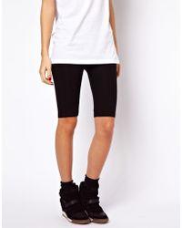 Asos Basic Legging Shorts - Lyst