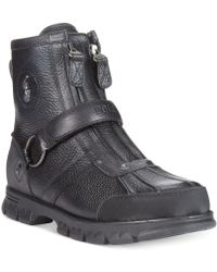 Polo Ralph Lauren Conquest Iii High Boots - Lyst