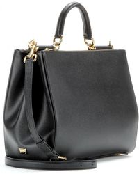 Dolce & Gabbana Sicily Leather Tote - Lyst