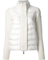 Moncler Contrast Padded Jacket - Lyst
