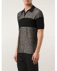 Lucio Castro - Striped Polo Shirt - Lyst