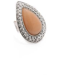 Samantha Wills - Bohemian Barot Ring - Antique Silver/pink - Lyst
