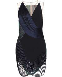 Stella McCartney Harriet Fringed Minidress - Lyst