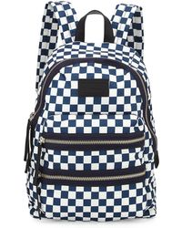 Marc By Marc Jacobs Loco Domo Packrat Checkered Backpack - Lyst