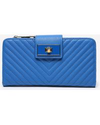 Bebe - Misha Quilted Wallet - Lyst