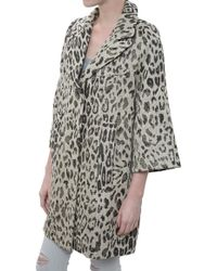 Smythe Mini Opera Coat - Lyst