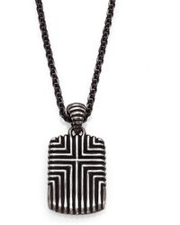 John Hardy | Bedeg Sterling Silver Pendant Necklace | Lyst