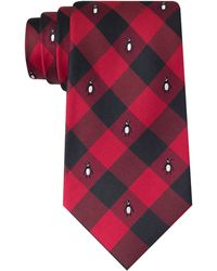 Tommy Hilfiger Penguin Buffalo Check Tie - Lyst