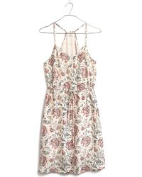 Madewell Silk Daybreak Sundress in Turkish Garden - Lyst