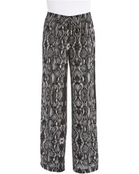 Calvin Klein Patterned Drawstring Pants - Lyst