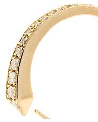 Tilda Biehn - Comet Diamond & Yellow-Gold Ring - Lyst