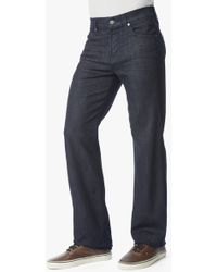 7 For All Mankind Luxe Performance Austyn Relaxed Straight with Clean Pocket - Lyst