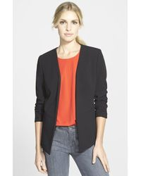 Trouvé Collarless Open Front Jacket - Lyst