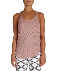 Etoile Isabel Marant Flavian Overdyed Striped Tank - Lyst
