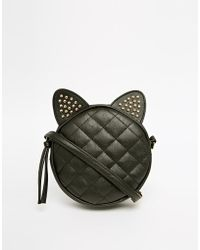 Asos Studded Cat Ears Cross Body Bag - Lyst