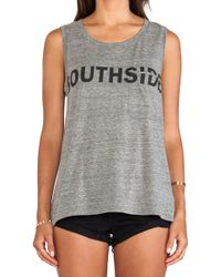 Textile Elizabeth And James Southside Dean Tee - Lyst