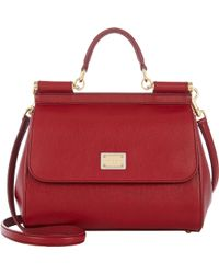 Dolce & Gabbana Small Miss Sicily Bag - Lyst