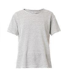 Etoile Isabel Marant Itha Striped Linen Tshirt - Lyst
