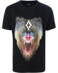 Marcelo Burlon County Of Milan Black Samir T-shirt - Lyst